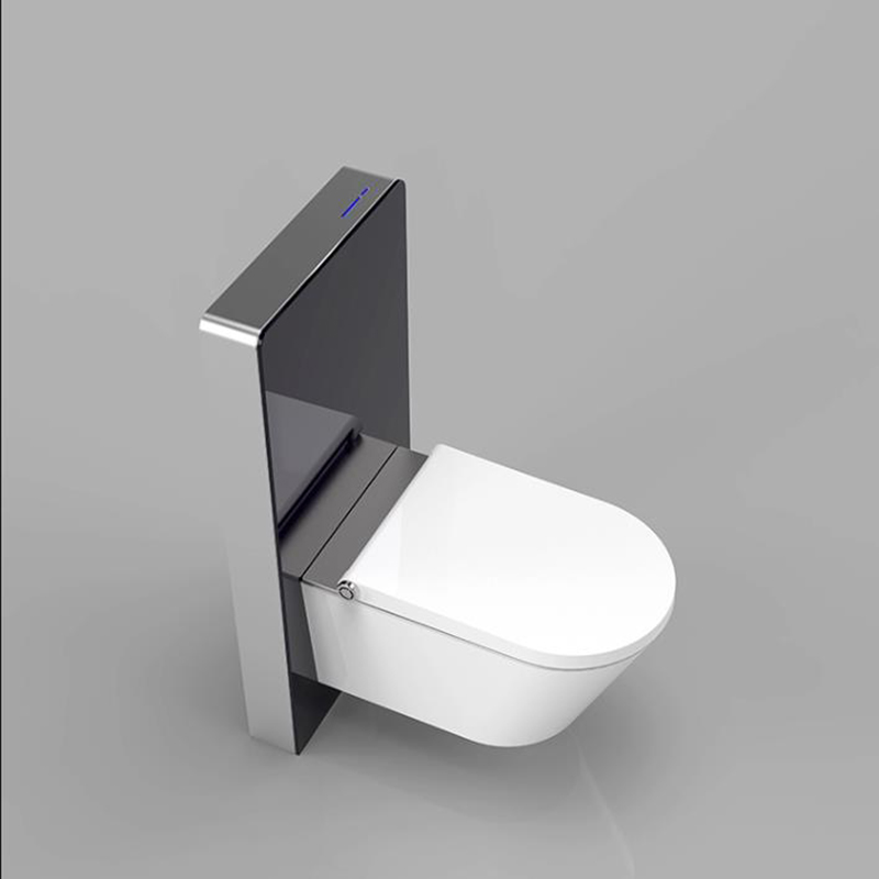 Most Popular sensor flushing glass cistern for Wall-hung Easy and Quick Flush