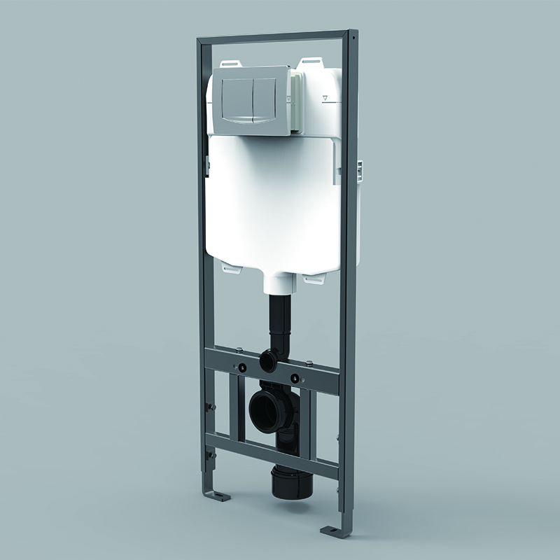 concealed mechanical cistern
