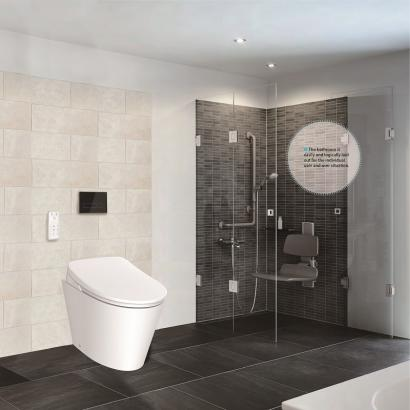 Electronic Smart Bidet with inwall cistern
