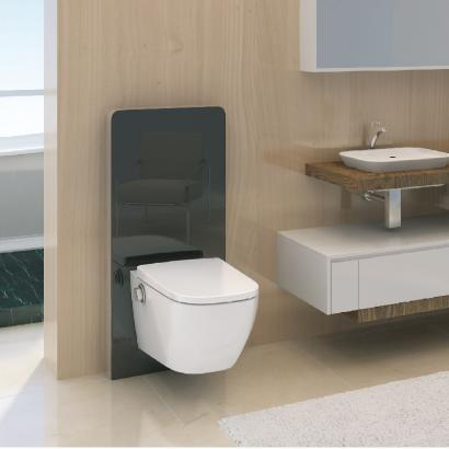 Square shape bidet toilet seat