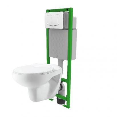 Mechanical concealed cistern